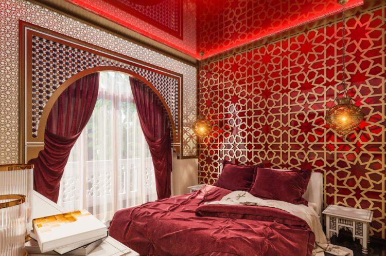 Hotel Morocco bedroom